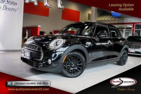 2017 MINI Hardtop 4 Door for sale at Quality Auto Center of Springfield in Springfield NJ