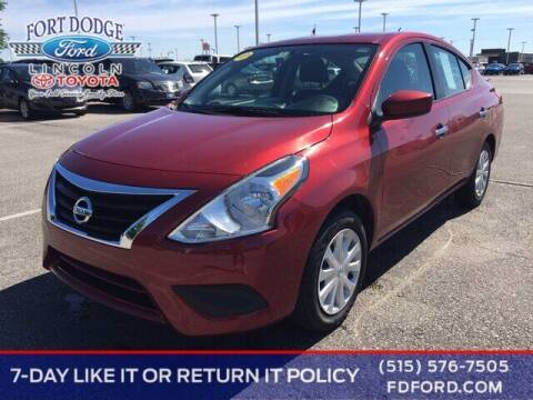 2019 Nissan Versa for sale at Fort Dodge Ford Lincoln Toyota in Fort Dodge IA