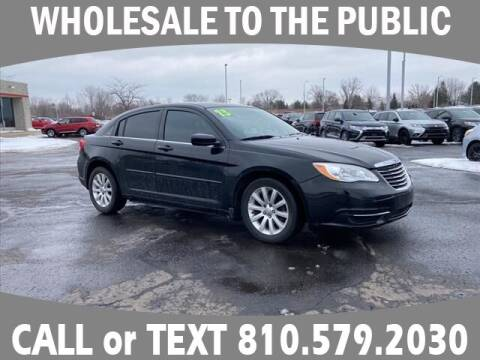 2013 Chrysler 200 for sale at Lasco of Grand Blanc in Grand Blanc MI