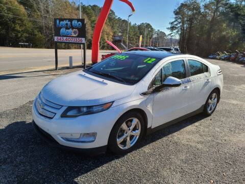 2012 Chevrolet Volt for sale at Let's Go Auto in Florence SC