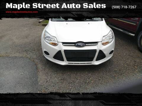2014 Ford Focus for sale at Maple Street Auto Sales in Bellingham MA