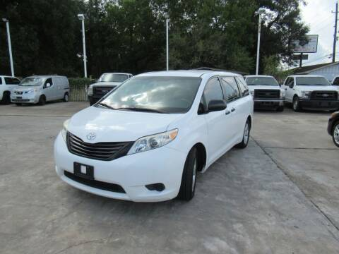 2013 Toyota Sienna for sale at Lone Star Auto Center in Spring TX