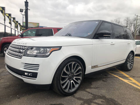 2016 Land Rover Range Rover for sale at Champs Auto Sales in Detroit MI