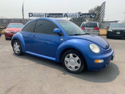 2000 Volkswagen New Beetle for sale at Dealer Finance Auto Center LLC in Sacramento CA