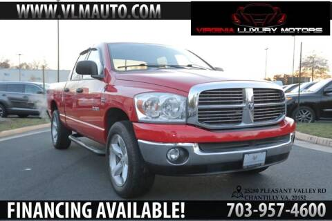 2008 Dodge Ram Pickup 1500 for sale at Used Imports Auto - Virginia Luxury Motors in Chantilly GA