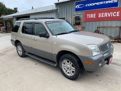 2005 Mercury Mountaineer for sale at GREENFIELD AUTO SALES in Greenfield IA