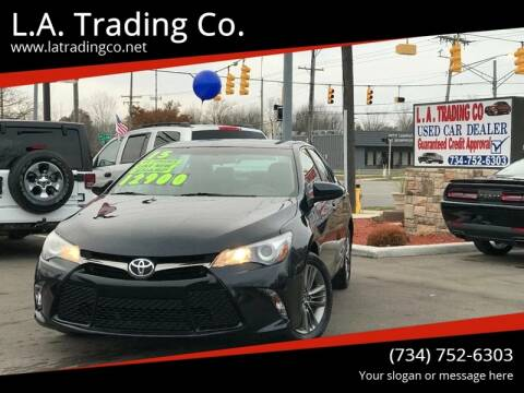 2015 Toyota Camry for sale at L.A. Trading Co. Woodhaven in Woodhaven MI