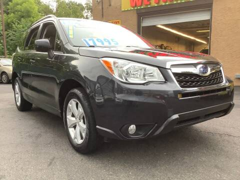 2016 Subaru Forester for sale at Active Auto Sales Inc in Philadelphia PA