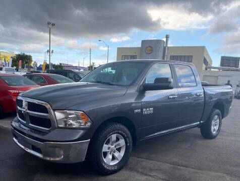 2017 RAM Ram Pickup 1500 for sale at MANA AUTO SALES in Miami FL