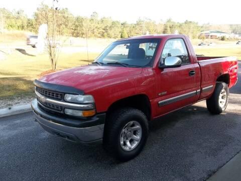 2002 Chevrolet Silverado 1500 for sale at Anderson Wholesale Auto in Warrenville SC