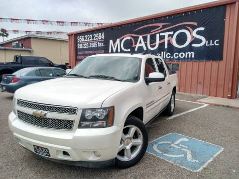 2008 Chevrolet Avalanche for sale at MC Autos LLC in Pharr TX