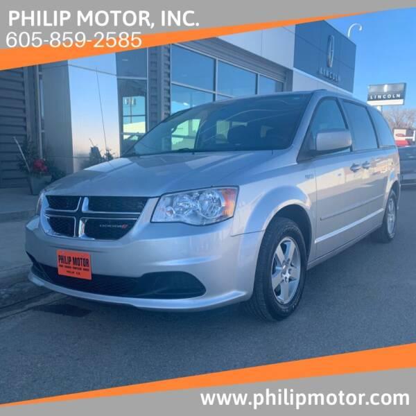2012 Dodge Grand Caravan for sale at Philip Motor Inc in Philip SD