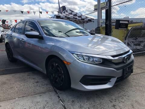 2016 Honda Civic for sale at GW MOTORS in Newark NJ