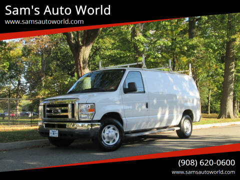 2012 Ford E-Series Cargo for sale at Sam's Auto World in Roselle NJ
