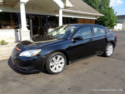 2012 Chrysler 200 for sale at DEALS UNLIMITED INC in Portage MI