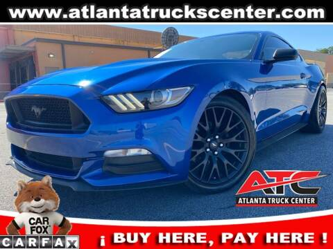 2017 Ford Mustang for sale at ATLANTA TRUCK CENTER LLC in Brookhaven GA