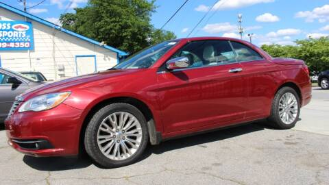 2012 Chrysler 200 Convertible for sale at NORCROSS MOTORSPORTS in Norcross GA