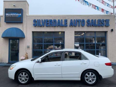 2005 Honda Accord for sale at Silverdale Auto Sales II in Sellersville PA