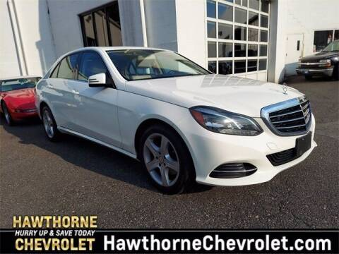 2016 Mercedes-Benz E-Class for sale at Hawthorne Chevrolet in Hawthorne NJ