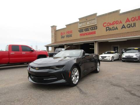 2017 Chevrolet Camaro for sale at Import Motors in Bethany OK