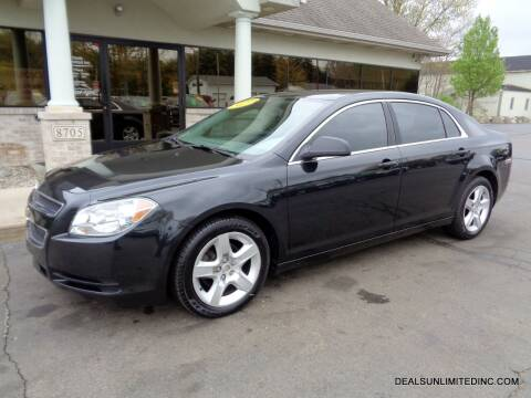 2012 Chevrolet Malibu for sale at DEALS UNLIMITED INC in Portage MI
