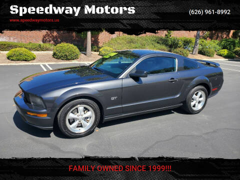 2008 Ford Mustang for sale at Speedway Motors in Glendora CA