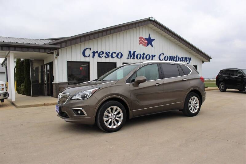 2018 Buick Envision for sale at Cresco Motor Company in Cresco IA