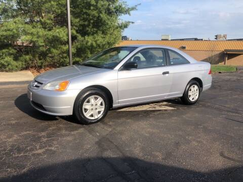 2003 Honda Civic for sale at Branford Auto Center in Branford CT