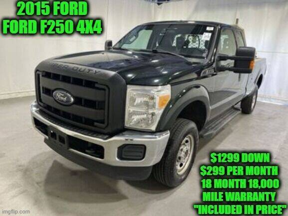 2015 Ford F-250 Super Duty for sale at D&D Auto Sales, LLC in Rowley MA