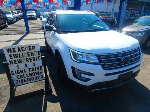 2017 Ford Explorer for sale at Cedano Auto Mall Inc in Bronx NY