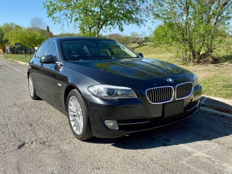 2013 BMW 5 Series for sale at Texas Auto Trade Center in San Antonio TX