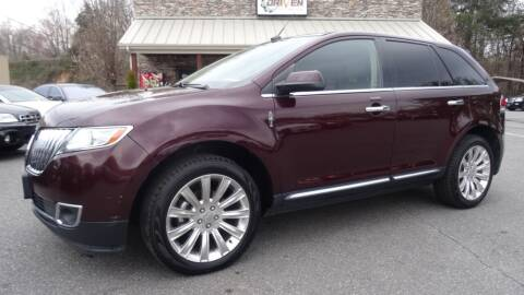 2011 Lincoln MKX for sale at Driven Pre-Owned in Lenoir NC