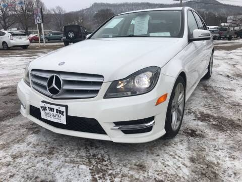 2013 Mercedes-Benz C-Class for sale at Toy Box Auto Sales LLC in La Crosse WI