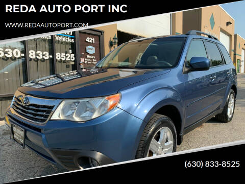 2009 Subaru Forester for sale at REDA AUTO PORT INC in Villa Park IL