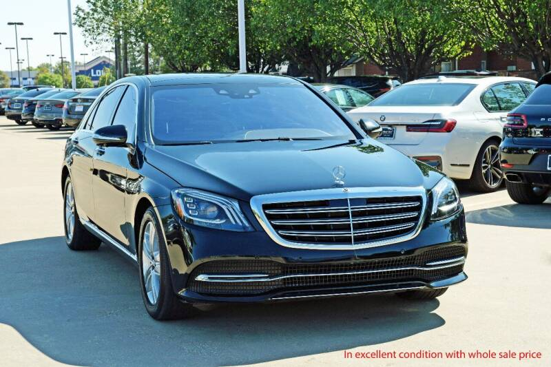 2019 Mercedes-Benz S-Class for sale at Silver Star Motorcars in Dallas TX