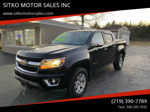 2015 Chevrolet Colorado for sale at SITKO MOTOR SALES INC in Cedar Lake IN