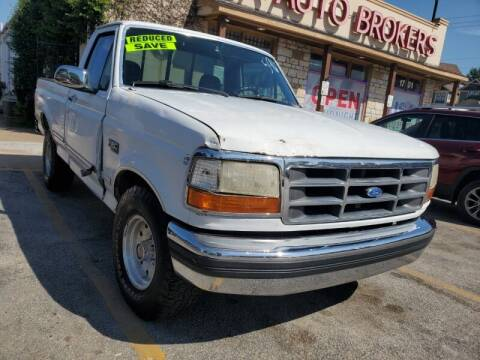 1994 Ford F-150 for sale at USA Auto Brokers in Houston TX
