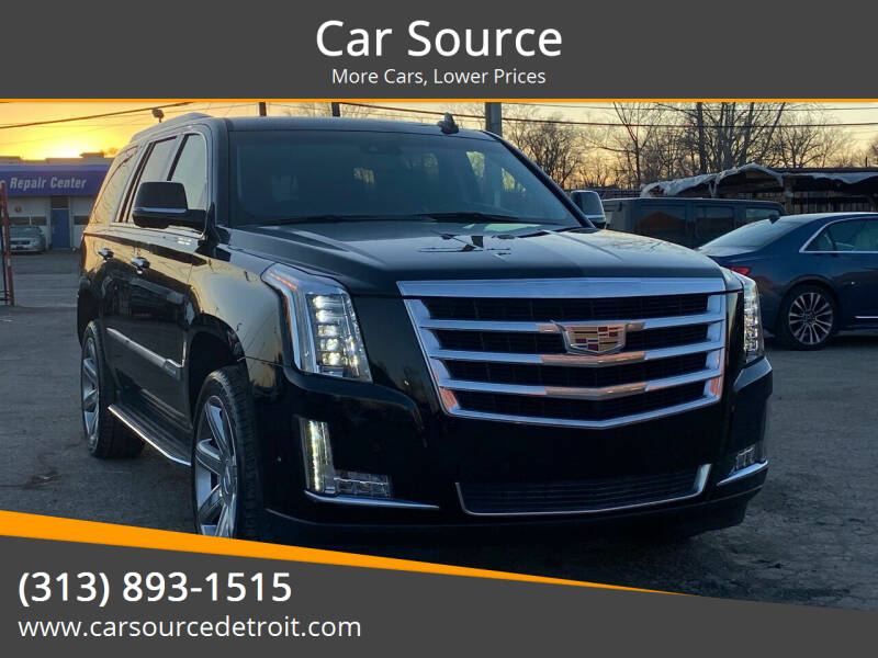 2019 Cadillac Escalade for sale at Car Source in Detroit MI