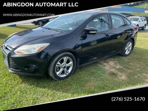 2014 Ford Focus for sale at ABINGDON AUTOMART LLC in Abingdon VA