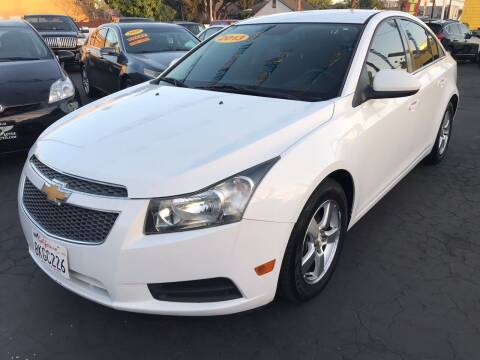 2013 Chevrolet Cruze for sale at Plaza Auto Sales in Los Angeles CA