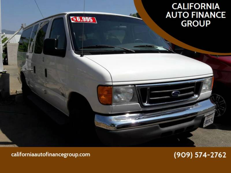 2007 Ford E-Series Wagon for sale at CALIFORNIA AUTO FINANCE GROUP in Fontana CA