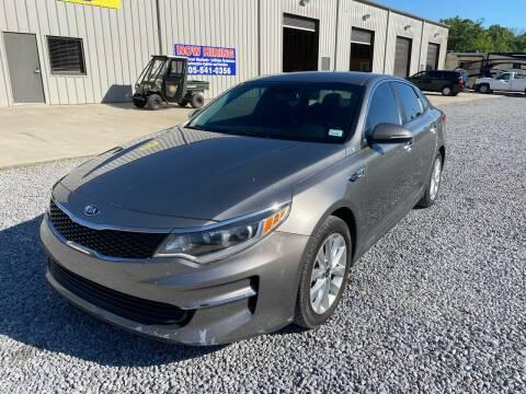 2016 Kia Optima for sale at Alpha Automotive in Odenville AL