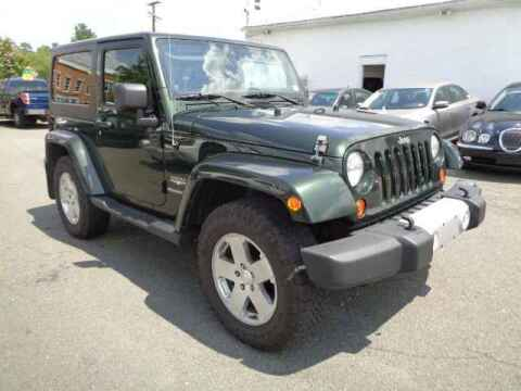 2011 Jeep Wrangler for sale at Purcellville Motors in Purcellville VA