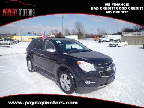 2013 Chevrolet Equinox for sale at Payday Motors in Wichita And Topeka KS