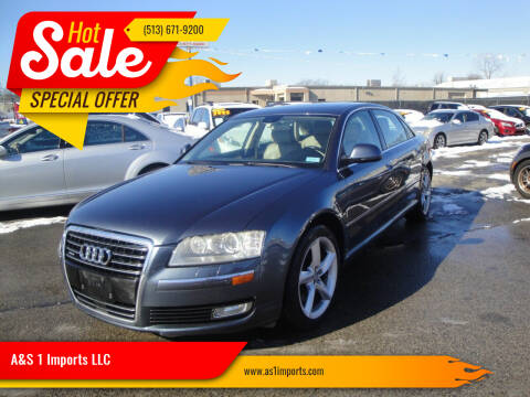 2008 Audi A8 L for sale at A&S 1 Imports LLC in Cincinnati OH