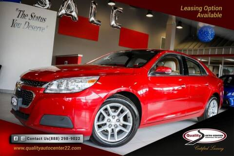 2014 Chevrolet Malibu for sale at Quality Auto Center of Springfield in Springfield NJ