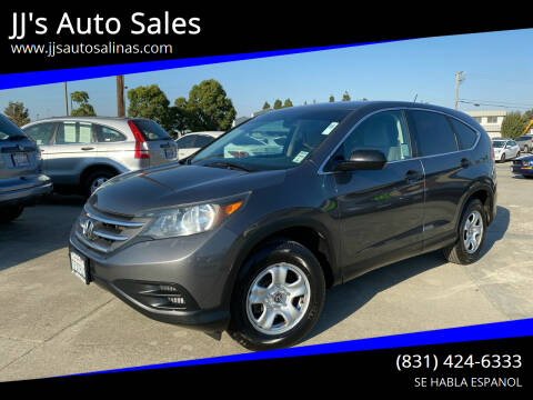 2012 Honda CR-V for sale at JJ's Auto Sales in Salinas CA