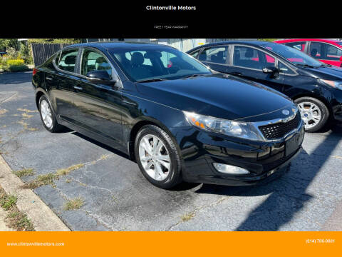 2013 Kia Optima for sale at Clintonville Motors in Columbus OH
