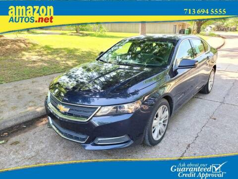 2016 Chevrolet Impala for sale at Amazon Autos in Houston TX