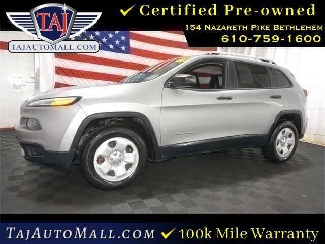 2014 Jeep Cherokee for sale at Taj Auto Mall in Bethlehem PA
